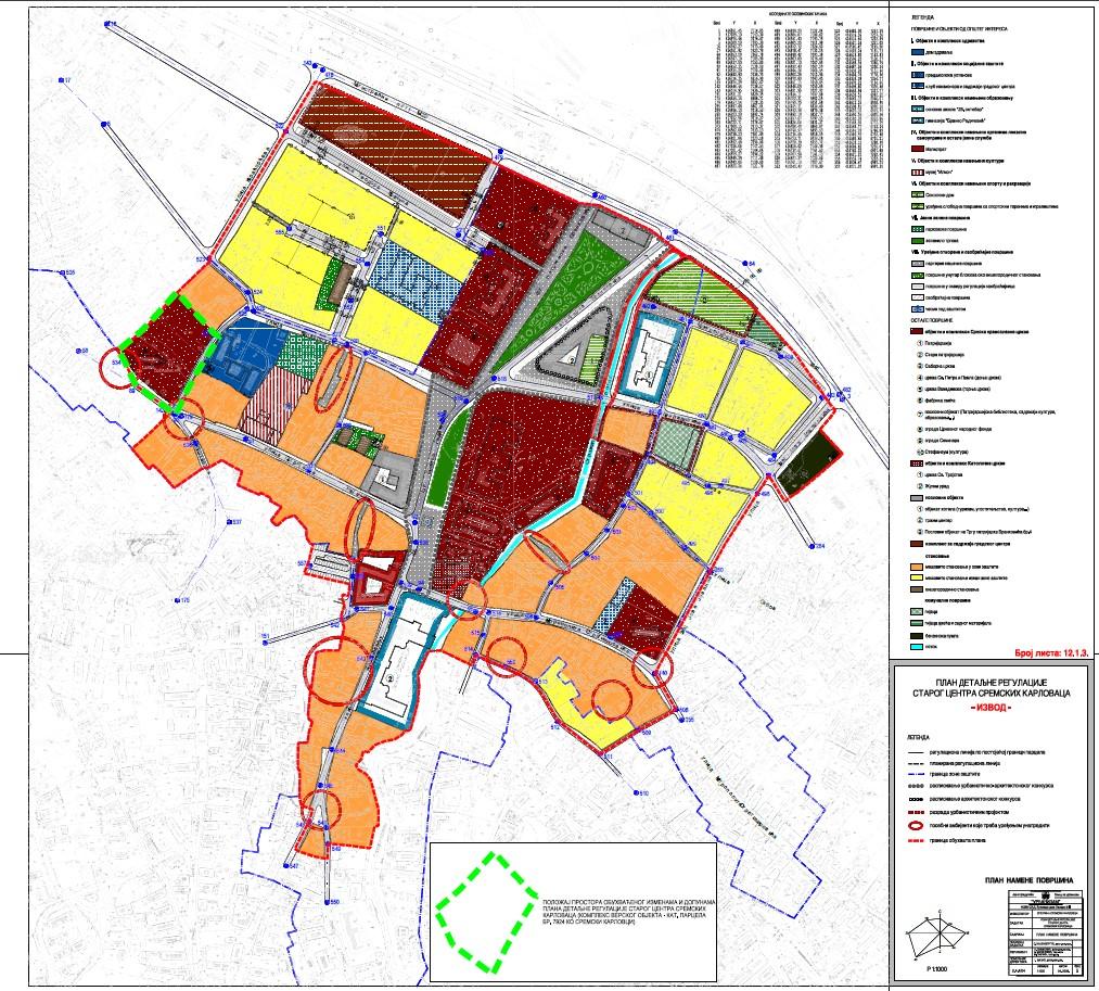 Sluzbeni list – 2019 – 55 prilog 1.3. IZVOD IZ PDR STAROG CENTRA SR. KARLOVACA